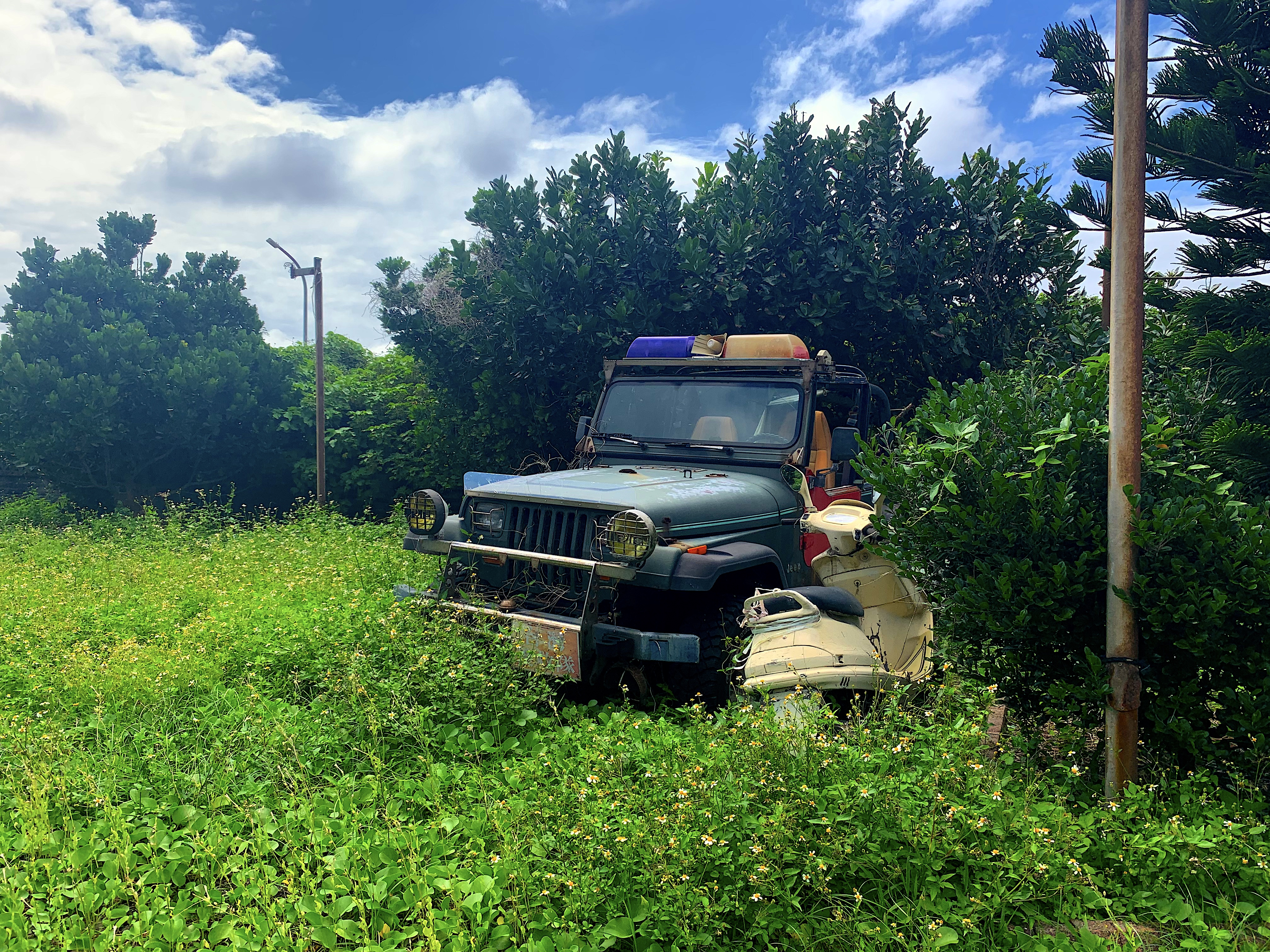 A Jeep could get your around Taiwan's Green Island