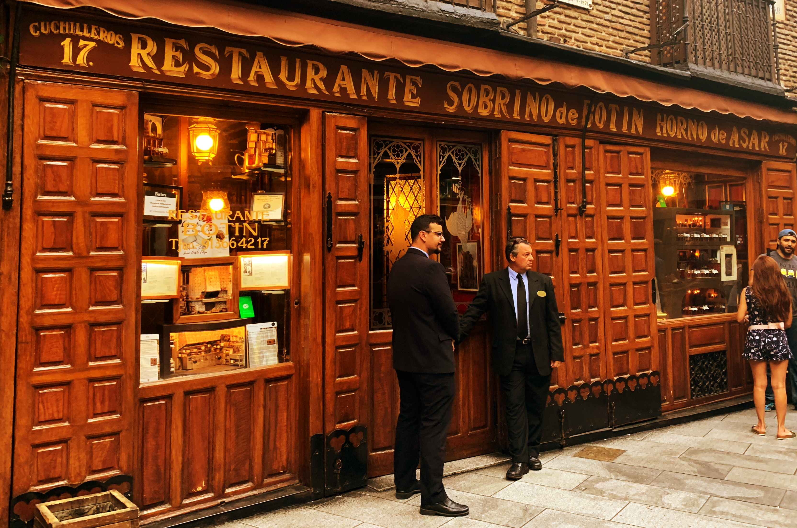 Things to do in Madrid: visit Sobrino de Botin