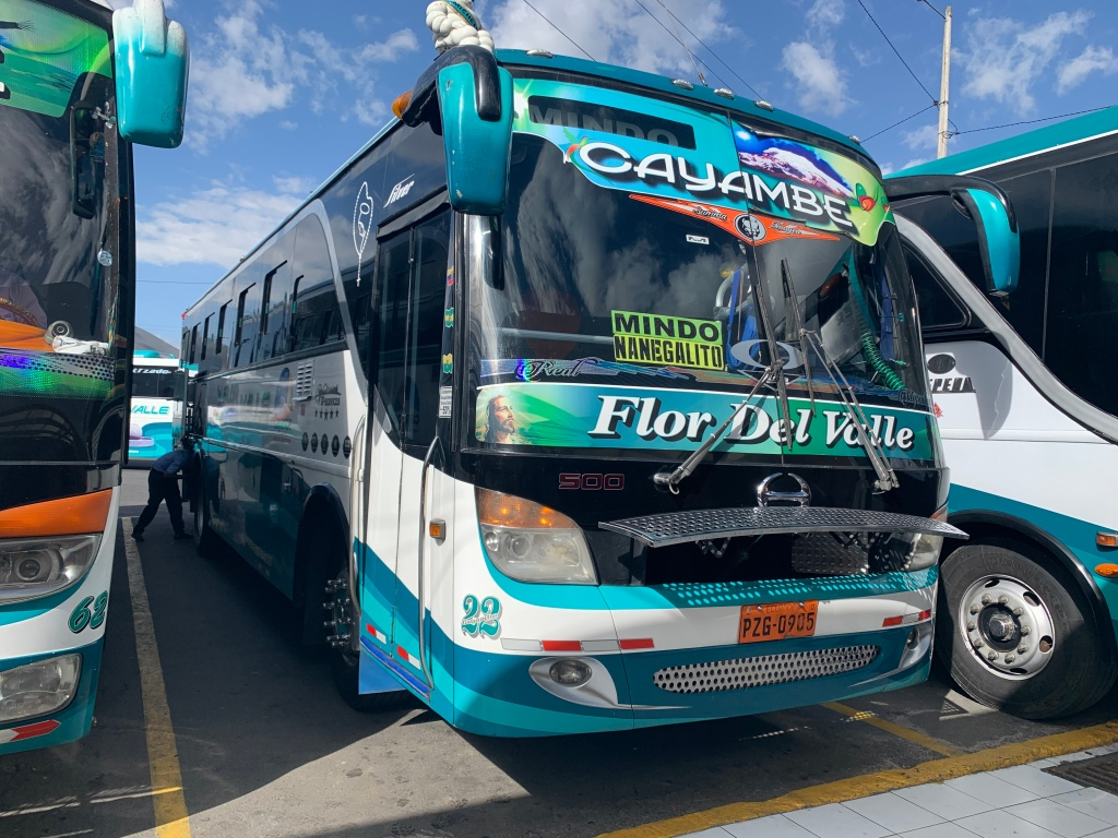 bus-parked-at-quito-station-to-mindo