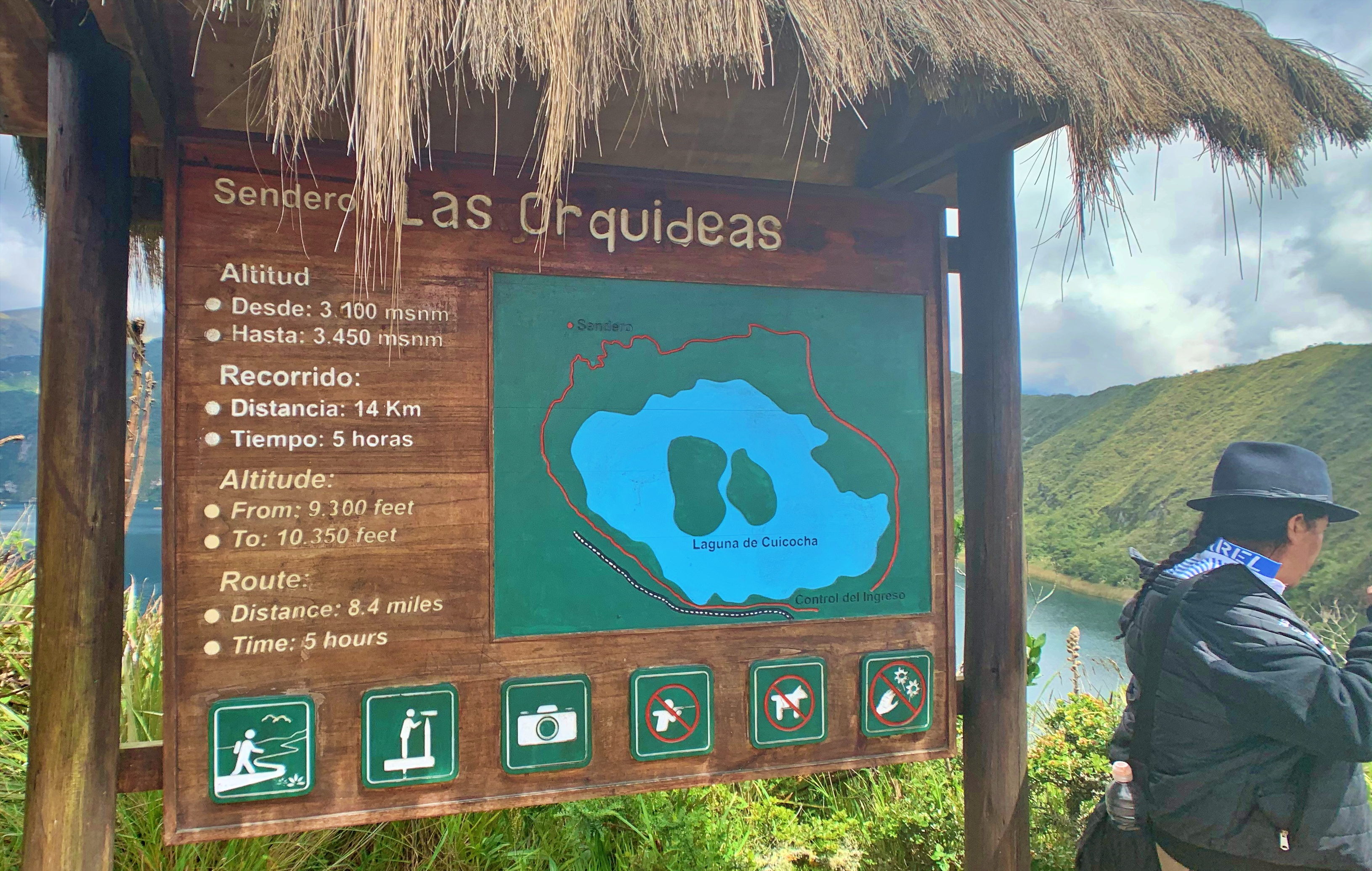 lake-cuicocha-sign
